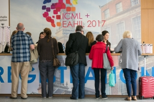 Registering for ICML+EAHIL2017.