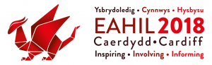 EAHIL 2018 conference logo.