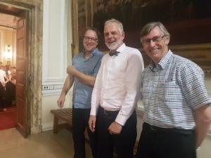 Guus van den Brekel, Oliver Obst, Peter Morgan.