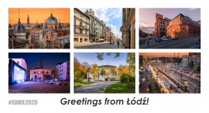 Six pictures of Lodz.