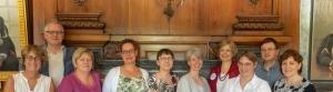 EAHIL Board members 2018.