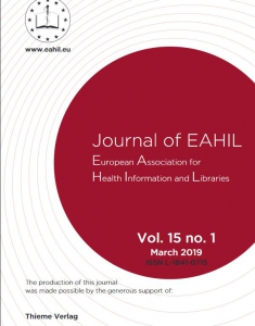 Cover of JEAHIL 1/2019