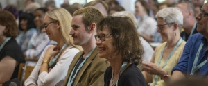 Smiling workshop participants.