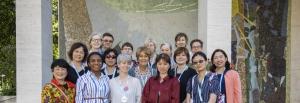 EAHIL Board members and sister organisations' representatives.